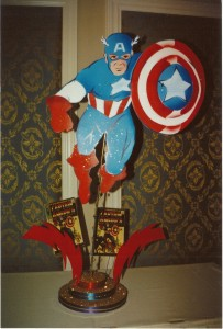 Theme Centerpieces, Captain America Theme Centerpieces