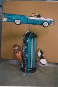 Theme Centerpieces, Car Event Theme Centerpieces
