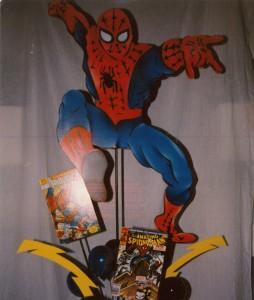 Theme Centerpieces, Comic Theme Centerpieces