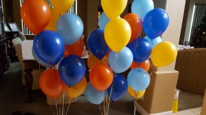Balloon Basics, Balloon Decoration, Colorful Balloon Decoration