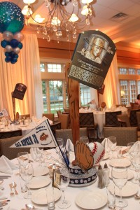 Sports Theme Centerpieces, Base Ball Centerpieces