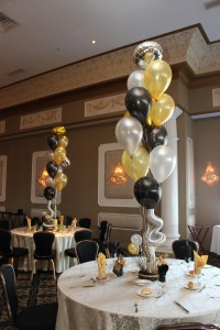 Balloon Centerpieces, Colorful Balloon Centerpieces