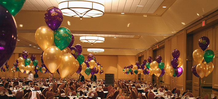 Balloon Decoration In Room