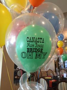 Party Balloons and Games, Theme Centerpieces