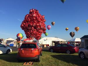Red Toyota Balloons