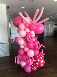 Jen Selter Pink Birthday Balloon Column 2