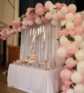 Wedding Organic Balloon Arch 1