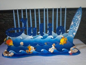 Underwater Design Candle  Lightning, Candle Lighting Centerpieces, Candle Lighting Ideas