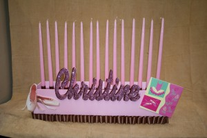 Candle Lighting Centerpieces, Candle Lighting Pieces & Candles, Pink Candle Lighting