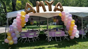 Balloon Arch, Foil Balloons, Packed Balloon Arch, Colorful Balloons, Balloon Letters
