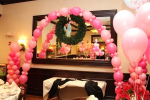Single Balloon Arch, Pink Balloons, Love Balloons