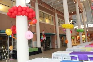 Balloon Basics, Balloon Decoration, Colorful Balloon Decoration