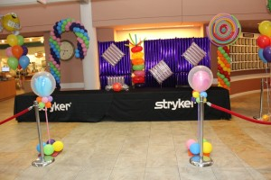Balloon Basics, Balloon Columns, Stage Balloon Column