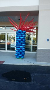 Balloon Column, Petco Balloon Column, Petco Balloons