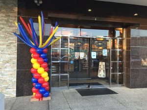 Balloon Column,Multi color Balloon Column