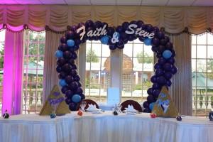 Balloon Sculpture, Balloon Arch,Heart Shape Balloon Arch