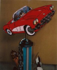 Theme Centerpieces, Car Event Theme Centerpiece