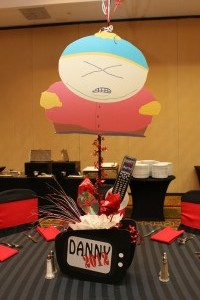 Character Centerpieces, TV Show Theme Decoration