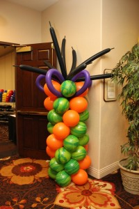 Balloon Column, Multi-color Balloon Column